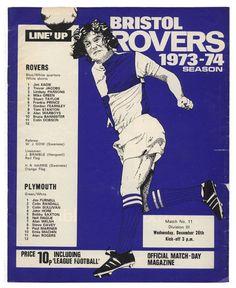 Bristol Rovers v. Plymouth Argyle 1973