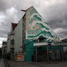M City, Sopot, The Wall