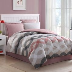 Shop for Geo Lines 8-piece Bed in a Bag with Sheet Set. Get free shipping at Overstock.com - Your Online Fashion Bedding Outlet Store! Get 5% in rewards with Club O!
