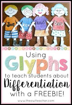 Teach your students about differentiation and students' needs in the classroom with the free and engaging glyph activity! Classroom Community, Special Education Classroom, School Classroom, School Fun, School Stuff, Classroom Ideas, Gifted Education, School Ideas, Classroom Organization