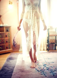 Attention Naughty Brides: How to make your wedding night lingerie extra bridal