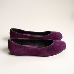 Who needs blue suede shoes when you can have purple?