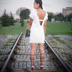 #summer #ootd #mango #schutzshoes #h&m #whitedress #heyprettyface
