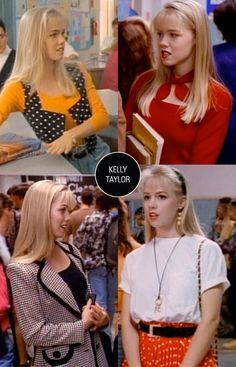 Style. Pause. Rewind. Kelly Taylor.