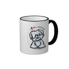 Coton de Tulear Lover Mug...cuteness just like my einstein