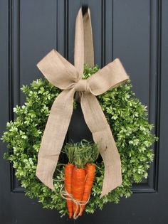 boxwood wreaths xl easter wreaths spring wreaths burlap boxwood wreath door wreaths carrot decor