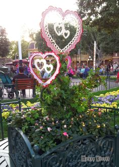 Valentine's Day at Disneyland