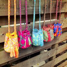 My Mochila by Isabelli  www.myisabelli.com #mochila #wayuu #mymochila  Ugggg I want all of these!