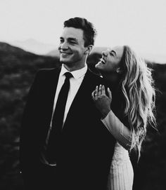 black and white first look photo of bride and groom for adventurous wedding