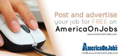 Job Search Websites, Free Job Posting, Career Choices, Job Portal, Good Job, Online Jobs, America, Tools, Instruments