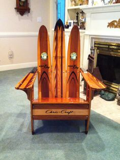 1000 Images About Snow Ski Adirondack Chair On Pinterest