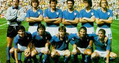 España 1982-La selección de Italia gana por tercera vez el campeonato
