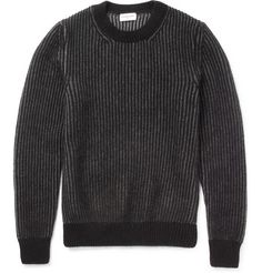 Exemplaire Cashmere and Angora-Blend Sweater | MR PORTER