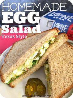 See the unique twist to make this Egg Salad Recipe Texas Style healthy. Spice up your egg salad for a great way to use hard boiled eggs. Fun Easter brunch idea or Easter dish. Spicy Egg Salad Recipe, Healthy Egg Salad, Egg Recipes, Real Food Recipes, Salad Recipes, Healthy Recipes, Healthy Food, Yummy Recipes, Easter Dishes