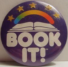 """... """"Book It!"""" was my one true love in elementary school!"""