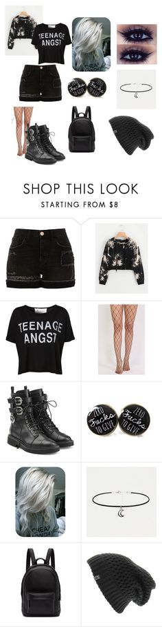 """Jughead's girlfriend"" by hailey-renee-bly ❤ liked on Polyvore featuring River Island, Tee and Cake, Pilot, Giuseppe Zanotti, PB 0110 and The North Face"