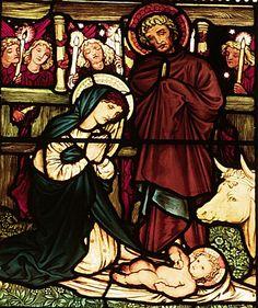 Nativity William Morris