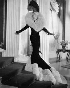 Mae West. The original 'bad girl'. She had some amazing clothes.