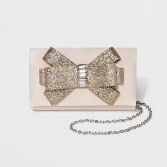 79326c8cc260 Estee  amp  Lilly Women s Glitter Bow Clutch Handbag Target Bow Clutch