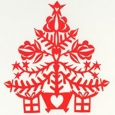 Where Earth Meets Sky: Christmas Trees and Snowflakes, New Card Designs, Holiday 2013