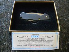 Zippo Knife-Black Cut-About Lite Jr.- Free Shipping!