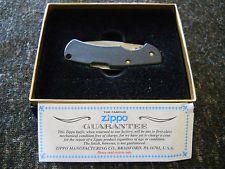 Zippo Knife-Black Cut-About Lite Jr.- Free Shipping!