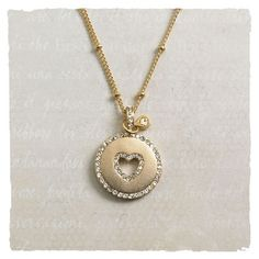 Sparkle Heart Necklace in Holiday 2012 from Arhaus Jewels on shop.CatalogSpree.com, my personal digital mall.