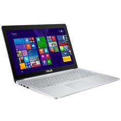 "Clavier SUISSE: PC portable ASUS ZenBook Pro UX501JW-FI486T Intel Core i7-4750HQ 8 Go SSD 256 Go 15.6"" LED Ultra HD NVIDIA GeForce GTX 960M Wi-Fi AC/Bluetooth Webcam Windows 10 Famille 64 bits (garantie constructeur 2 ans)"