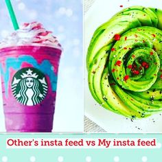 I've been very busy lately  but when I saw that unicorn Starbucks drink on my social media for the 19864th time  I really needed to come here to soothe my eyes! You guys have no idea how much I love the healthy food pics you post! Also loving all the Earth Day updates from the weekend!