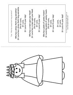 candlemas coloring pages | 1000+ images about Saint Lucia's Day (St. Lucy) on ...