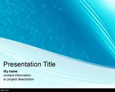 Clean Futuristic PowerPoint Template is a cyan and blue background template for PowerPoint presentations that you can download for free