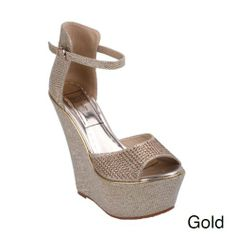 Jacobies MODA-5 Women's Glitter Anke Strap Wedge Sandals, Color:GOLD, Size:9 JACOBIES,http://www.amazon.com/dp/B00I0MQPBS/ref=cm_sw_r_pi_dp_5uyjtb0K1KHYCR9E