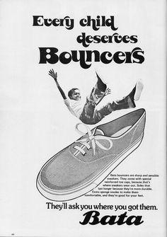 Every child deserves bouncers #batashoes #bata120years #advertising