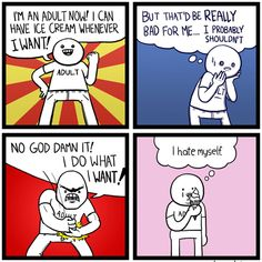 10+ Hilariously Relatable Comics About Adulthood