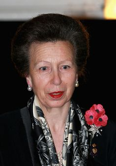 Princess Anne, the Princess Royal arrives at the Royal Albert Hall during the Annual Festival of Remembrance on November 7, 2015 in London, England.
