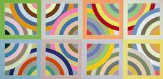 """""""Zambezi"""" de Frank Stella. Ritmo binario."""