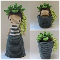 Flora, the Succulent - Crochet Pattern by {Amour Fou} - Flora, the Succulent - Crochet Pattern by {Amour Fou} - # . X stricken xstricken Amigurumi Flora, the Succulent - Crochet Pattern Caron Cake Crochet Patterns, Caron Cakes Crochet, Amigurumi Patterns, Amigurumi Doll, Knitting Patterns, Crochet Cactus Free Pattern, Afghan Patterns, Crochet Animal Amigurumi, Knitting Toys
