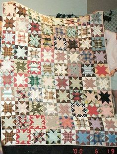 Inspirational Quilt Design - would be a good one to use scraps