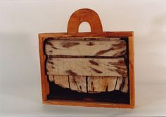 Alexis Akrithakis - Koffer - n. Greek, Objects, Artist, Wood, Suitcases, Artists