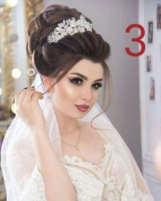 Hair Styles 2019 - Just another WordPress site Bridal Hair And Makeup, Bride Makeup, Wedding Makeup, Hair Makeup, Romantic Wedding Hair, Bride Hairstyles, Bridal Looks, Hair Dos, Prom Hair