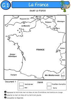 A l'encre violette: LA FRANCE