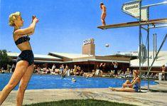 Las Vegas' Vintage Pool Party