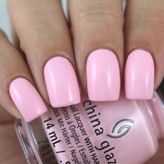 China Glaze My Sweet Lady swatched by Olivia Jade Nails - China Glaze My Sweet Lady swatched by Olivia Jade Nails The Effective Pictures We Offer You About M - Olivia Jade, Hot Nails, Uv Gel Nails, Hair And Nails, Nail Polish Dupes, Pink Nail Polish, Gel Polish, Jade Nails, Pink Nails
