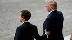 """Bromance: Trump gushes over Macron as 'great guy' who 'loves holding my hand'  https://tmbw.news/bromance-trump-gushes-over-macron-as-great-guy-who-loves-holding-my-hand  Donald Trump has praised his French counterpart Emmanuel Macron in a rather odd way, calling him a """"great guy"""" who """"loves holding my hand."""" It's not the first time the US president has made headlines for his hand-holding.During an interview with the New York Times on Wednesday, reporter Maggie Haberman noted that Macron had…"""