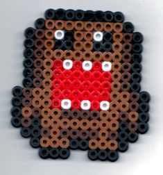 Domo Kun Perler by genjiworks on DeviantArt