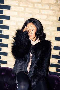 """Empire Actress Serayah Talks Taylor Swift and More: """"I flew to Chicago, came here to the Thompson, and stayed here for about  two months. This is my home away from home.""""   coveteur.com"""