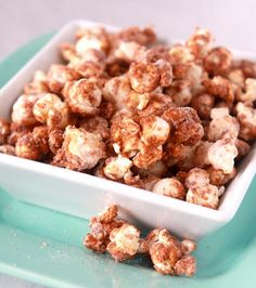 Five Popcorn Seasoning Recipes - Parmesan Truffle Popcorn, The Best Popcorn Seasoning, Italian Breadstick Popcorn, Churro Popcorn, Orange Creamsicle Popcorn.
