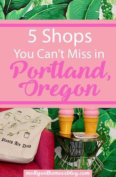 portland, oregon shops | best shops in portlan, oregon | where to shop in portland, or