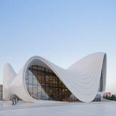 Remembering Zaha Hadid: Heydar Aliyev Center, Baku, 2014
