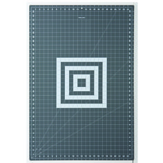 "Fiskars Cutting Mat Cutting Mat (24"" x 36"") Extra-large mat give you plenty of room to work. Our largest Cutting Mat is perfectly sized for cutting full widths of fabric right off the"